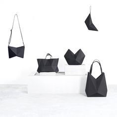 FINELL leather geometric handbags