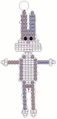 Pony Bead Patterns | bugs bunny 2