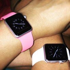 His & Hers Apple Watches! #applewatch #applewatchsport by hopeandmatthew