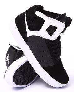 17c453315 Supra - Atom Black Suede Oiled Nubuck Sneakers