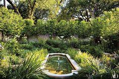 Classic Garden Reflecting Pool