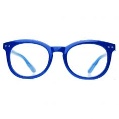 SAPPHIRE electric blue :: Blue Framed Glasses