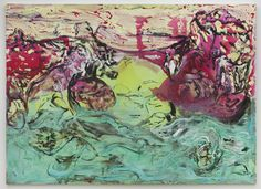 """Painting from Lola Montes Schnabel's first solo exhibition """"Love Before Intimacy"""""""