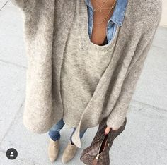 Winter Trends 2018 We discover fashion trends from season to shopper at Mango, Zara, Hm, redoubt, th Mode Outfits, Winter Outfits, Casual Outfits, Fashion Outfits, Fashion Trends, Fashion Inspiration, Fashion Moda, Look Fashion, Womens Fashion