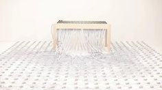musical table by kyouei design. The musical table installed 504 volumes on the top plate,