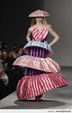 Weird & Bizarre Fashion: mushroom cuisine has gone too far?