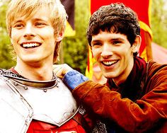 I love Merlin and Arthur. They are so funny when they are together.