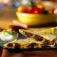 BBQ Riblet and Corn Quesadillas from Morningstar Farms #GotItFree
