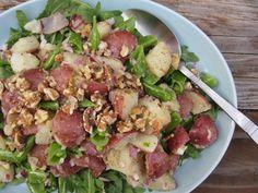 Potato, Pea, and Arugula Salad