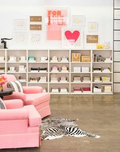 Fabulous office shelves and chairs