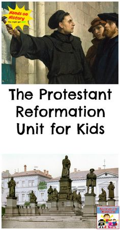 Protestant Reformation Unit for kids World History Lessons, Teaching History, History Quotes, Sunday School Teacher, Sunday School Lessons, Reformation Sunday, Reformation History, Martin Luther Reformation, Renaissance And Reformation