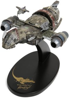 think the movie Serenity is what really got me in to loving Sci-fi movies/tv shows. Before that I read sci-fi books, but never got in to tv shows. Now of course I love them. Firefly Ship, Firefly Art, Firefly Serenity, Nathan Fillion, Firefly Series, Miniature, Joss Whedon, Thing 1, Geek Out