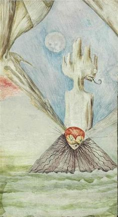 Untitled by Leonora Carrington, 1940. Painting.