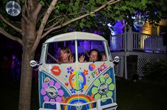 70's night | Soirée années 70 VW Wagon Photo booth | Photomaton VW van Hippies