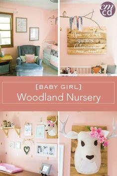 Woodland Themed Nursery Baby Girl Pottery Barn Target