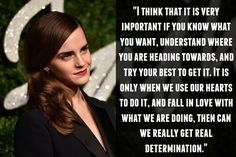 On finding your true passion: | 17 Empowering Emma Watson Quotes That Will Inspire You