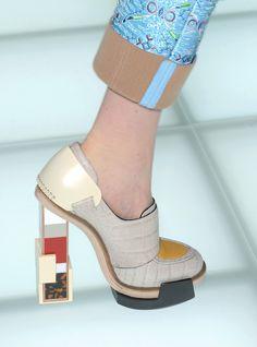 shoes @ Balenciaga Fall 2010.