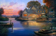 """""""Hunter's Cove"""" By George Kovach"""