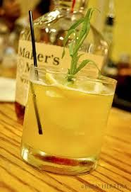 Bourbon Smash. (Old Fashioned, Shake&Strain) Mint, Lemon Sq 4, Gomme 2, Aromatic Bitters 2, Makers Mark 6, Garnish - Mint Sprig, Sensitivity - Pour Over Crushed