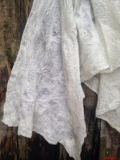 Silk + Merino Textiles, Felting, Silk, Textile Design, Felt Fabric, Fabrics, Silk Sarees, Textile Art