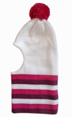 Frost Hats Winter Girl's WHITE Hat Balaclava Ski Mask Knit Frost Hats One Size Purple Frost Hats. $16.99