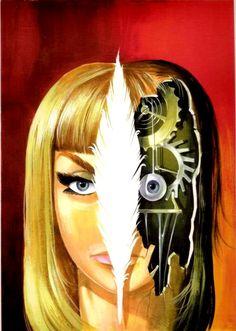 """Satanik"" fumetti art"