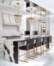 48 Adorable White Kitchen Design Ideas In 2019 … - Luxury Kitchen Remodel Home Decor Kitchen, Rustic Kitchen, Kitchen Furniture, New Kitchen, Kitchen Ideas, Kitchen Modern, Kitchen Industrial, Scandinavian Kitchen, Minimalistic Kitchen