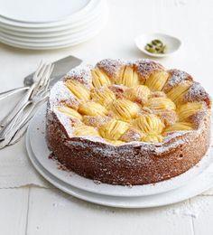 Versunkener Apfel-Zwieback-Kuchen Rezept - [ESSEN UND TRINKEN]