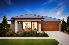 Tempo facade- available for the Bohemia, Verve, and Muse #homedesigns, #mojohomes