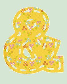 take heart: ampersand
