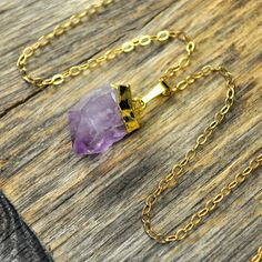 Amethyst Necklace, Amethyst Pendant Necklace, #jewelry #necklace @EtsyMktgTool http://etsy.me/2bYTDuH