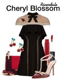 Designer Clothes, Shoes & Bags for Women Cheryl Blossom Riverdale, Riverdale Cheryl, Teen Fashion Outfits, Cool Outfits, Girl Fashion, Riverdale Set, Riverdale Fashion, Fandom Outfits, Celebrity Style
