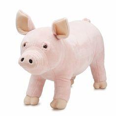 Melissa & Doug Pig Plush Stuffed Animal