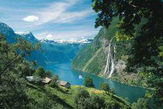 Fiordo Geirangerfjordche, Norvegia