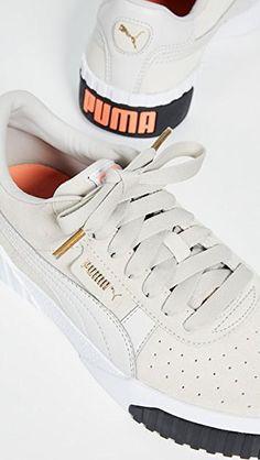 Puma Cali Exotic Schwarz Damen Bequem, elegant und frisch