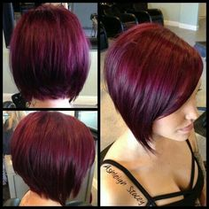 Sooo cute!!! If only I had the courage to cut my hair this short and color it this color again lol