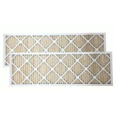 2-Pack Universal Furnace Air Filters Size 12 x 36 x 1 - Merv 11