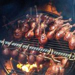 Bacon Wrapped Chicken Lollipops – Pit Barrel Cooker