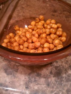 The Organic Lil' Hulk: HIgh Fiber Snack: Roasted Chickpeas