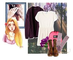 """Child Rapunzel"" by xeverlark ❤ liked on Polyvore featuring Monki, Superdry, Aéropostale, We Are Replay, Timberland Boot Company and ASOS"