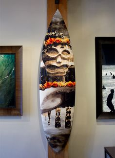 Great outdoor art by the pool or inside for a warm Polynesian vibe! Call the gallery at: for more information. Custom Surfboards, Photo Wrap, Ocean House, Ocean Art, Outdoor Art, Art World, Fine Art Photography, Warm, Gallery