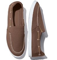 Men's Memory Foam Loafer - Casual, easy slip-on loafer for everyday wear. Plush padded memory-foam footbed cradles your feet for added comfort. Canvas upper.
