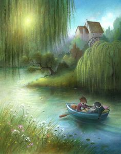 http://www.richardjohnsonillustration.co.uk/portfolio/wind-in-the-willows-illustrations/