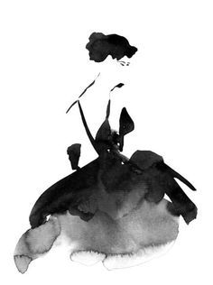 The little black dress. the little black dress watercolor dress, watercolour art, watercolor fashion, watercolour illustration, Watercolor Dress, Watercolor Fashion, Mode Collage, Melbourne Fashion, Illustration Mode, Watercolour Illustration, Watercolour Art, Illustration Courses, Monochrome Fashion