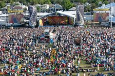 The Acura Stage at New Orleans Jazz Festival