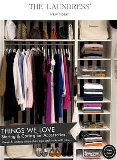 Capsule Closet from The Laundress