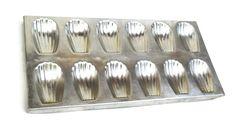 Vintage French Madeleine Tray. Baking Tin. by LeBonheurDuJour, $16.00