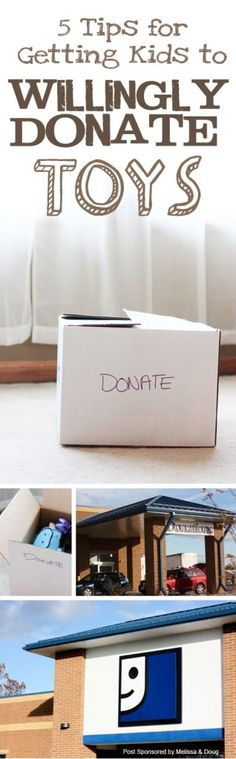 {Get Kids to WILLINGLY Donate Toys} *Great list of tips