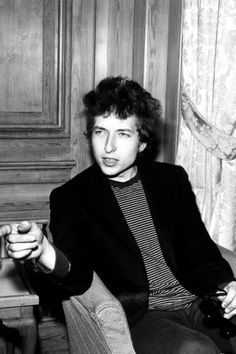 Bob Dylan — As one of, if not the, original hipsters of New York, Dylan's easy style leaves much to celebrate. Jeans and striped T-shirts, leather jackets, and a messy man 'do pretty much sum up one of the coolest dudes in style and in song.     Photo: Dezo Hoffmann/Rex USA