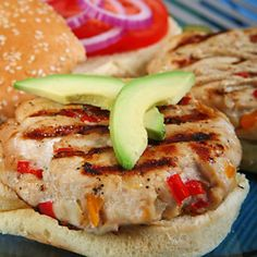 Try this Apple Turkey Burger recipe for a healthy BBQ meal. #NationalBurgerDay